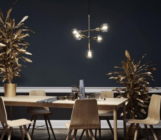 Bolia – Piper Lounge pendant 5-arms Pakabinamas šviestuvas  - 3