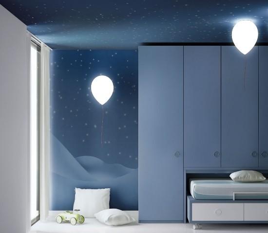 Estiluz – Balloon Sieninis šviestuvas  - 1
