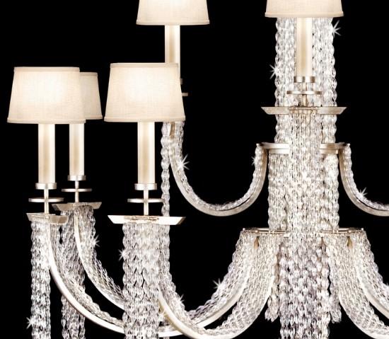 Fine Art Lamps - Cascades Pendant  - 2