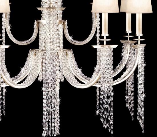 Fine Art Lamps - Cascades Pendant  - 3