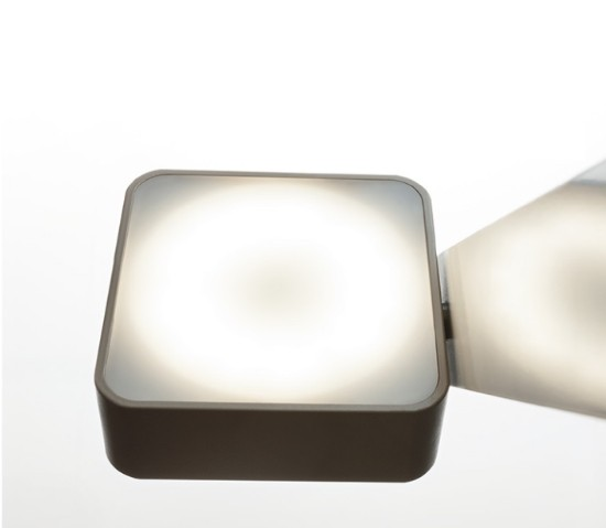 Itama – Aluled Square Sieninis šviestuvas  - 2