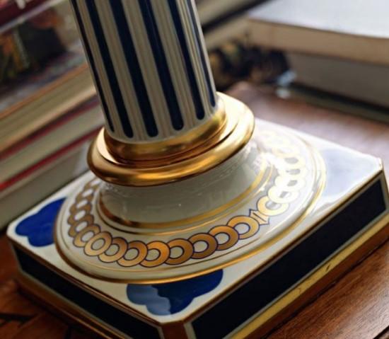 Le Porcellane - Colonne Table  - 3