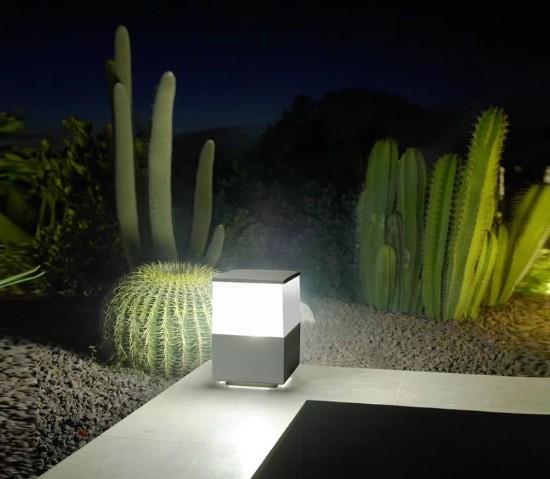 Leds-C4 – Cubik E27 Pastatomas lauko šviestuvas  - 1
