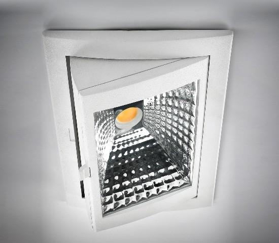 Leds-C4 – Out square Įleidžiamas šviestuvas  - 1