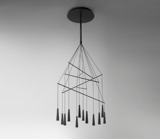Morosini – Mikado 12 Pakabinamas šviestuvas  - 1