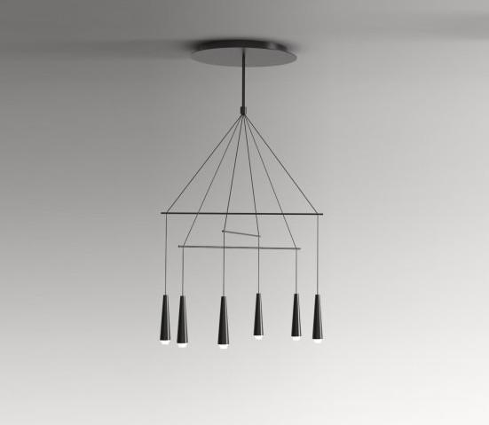 Morosini – Mikado 6 Pakabinamas šviestuvas  - 1