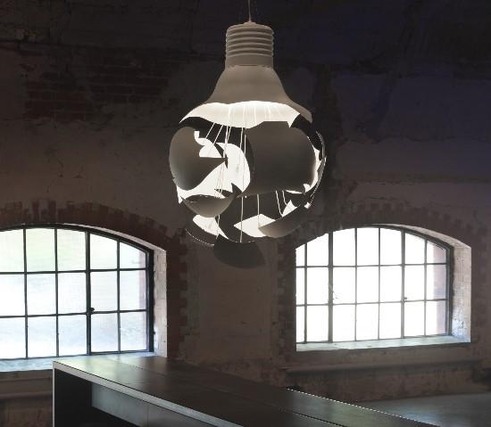 Northern Lighting – Scheisse Pakabinamas šviestuvas  - 3