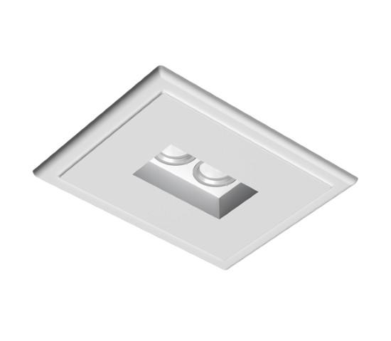 Flos – USB Square Užglaistomas berėmis šviestuvas  - 3