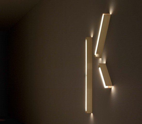 Šviestuvas Vesoi – U Brass Sieninis šviestuvas  - 1