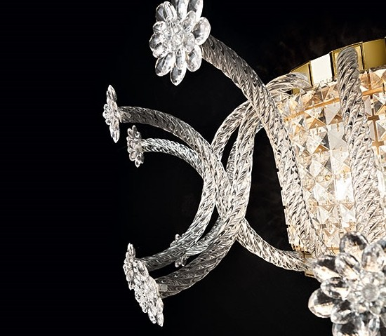Vintage – Tivoli Sieninis šviestuvas  - 2