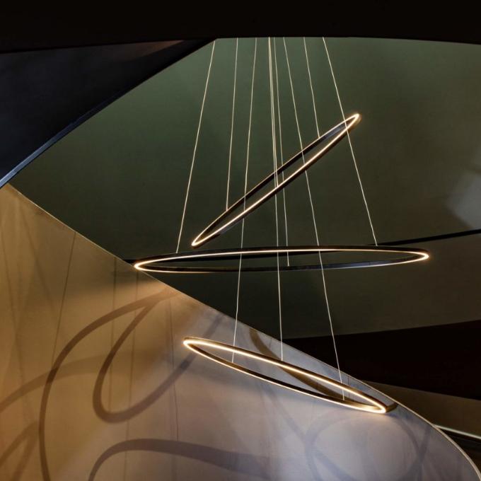 Nemo – Ellisse Triple Pakabinamas šviestuvas  - 2