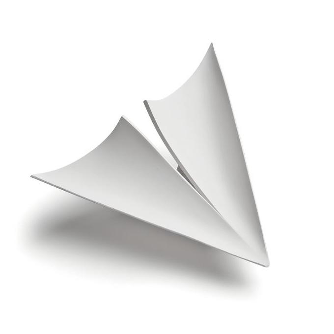 9010 Novantadieci – Vele 2393 Užglaistomas berėmis šviestuvas  - 1