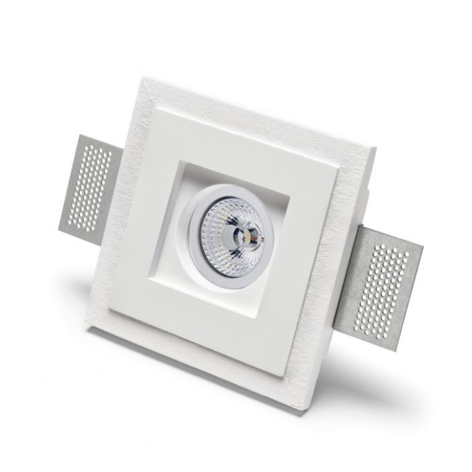 9010 Novantadieci – Basic 4176 Užglaistomas berėmis šviestuvas  - 1