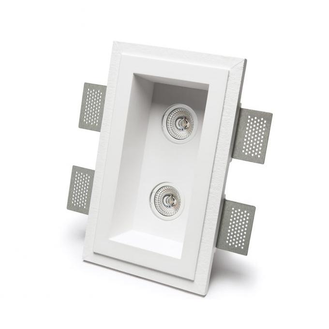 9010 Novantadieci – Basic 4210 Užglaistomas berėmis šviestuvas  - 1
