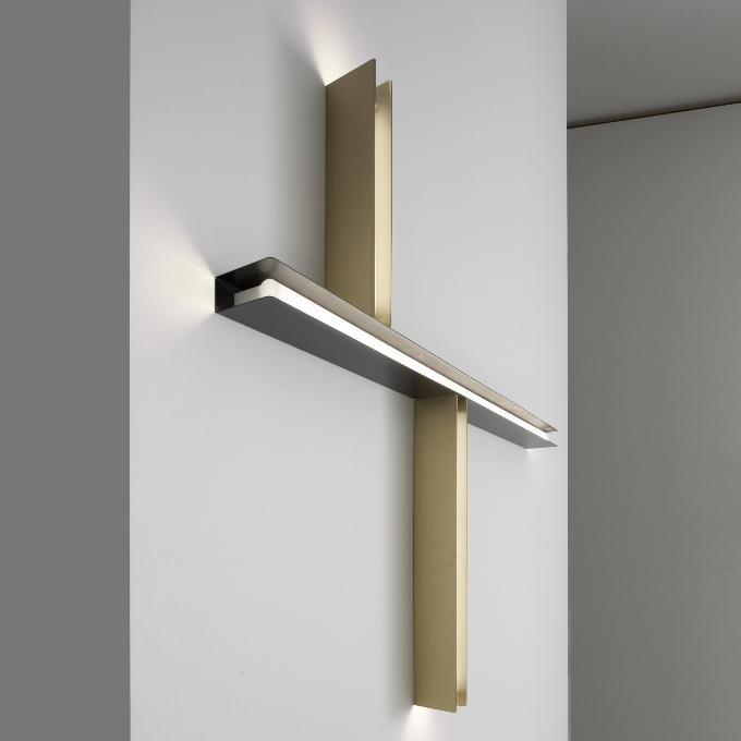 Vesoi – U Brass Sieninis šviestuvas  - 1