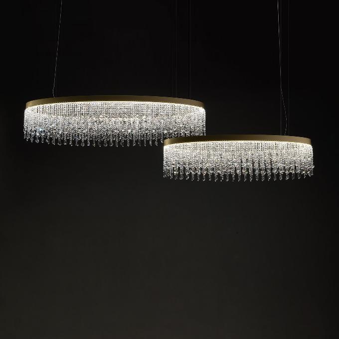 Šviestuvas Light4 – Eclisse Oval Pakabinamas šviestuvas  - 2