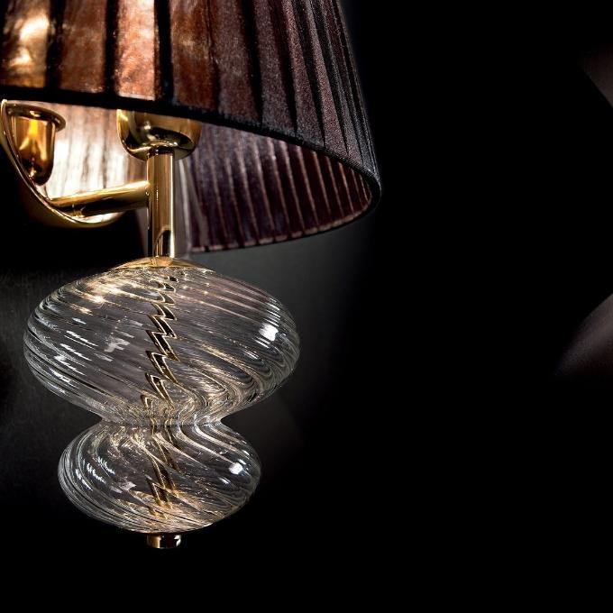 Vintage – Musa Sieninis šviestuvas  - 2