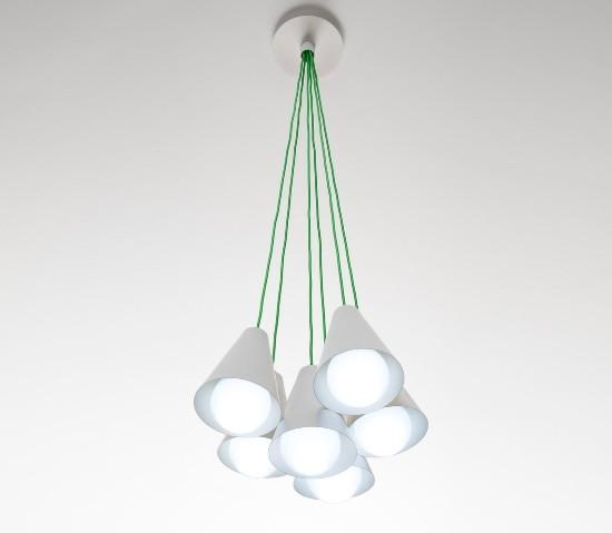 Zava – Cono 6 Pakabinamas šviestuvas  - 2