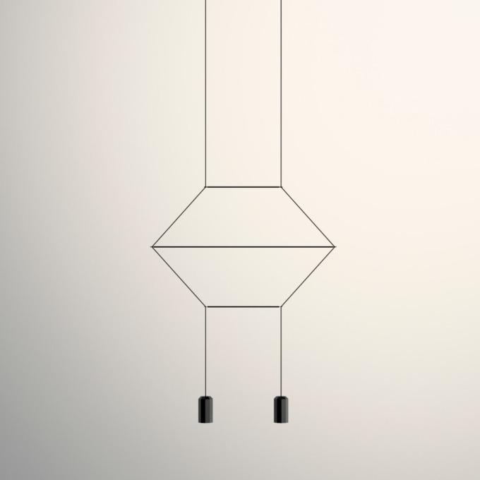 Šviestuvas Vibia – Wireflow Lineal 0320 Pakabinamas šviestuvas  - 1