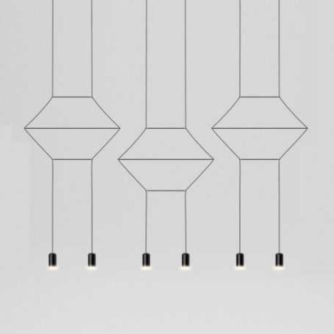 Šviestuvas Vibia – Wireflow Lineal 0325 Pakabinamas šviestuvas  - 1