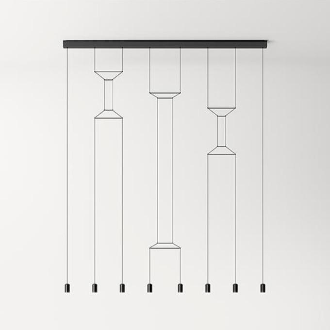 Šviestuvas Vibia – Wireflow Lineal 0340 Pakabinamas šviestuvas  - 1