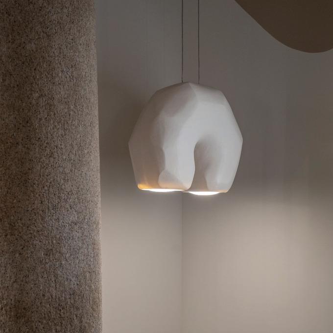 Šviestuvas Giopato & Coombes – Moonstone Arch Pakabinamas šviestuvas  - 2