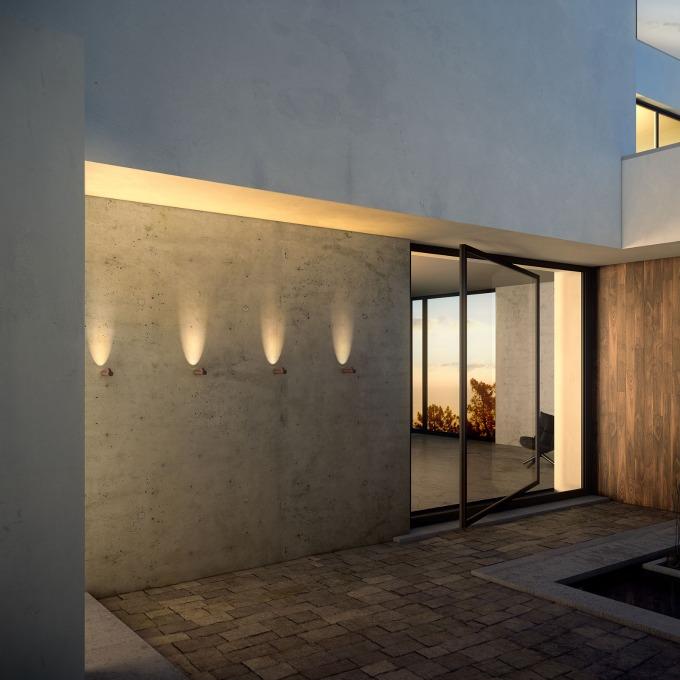 Šviestuvas Vibia – Bamboo Wall Sieninis lauko šviestuvas  - 1